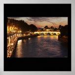 Seine River in Paris Print
