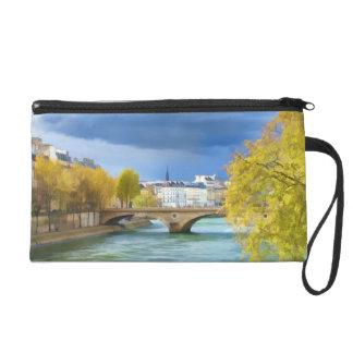 Seine River Under April Skies Accessory Bag