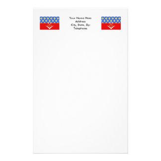 Seine-Saint-Denis flag Stationery