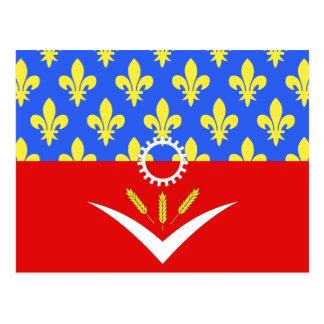 Seine-Saint-Denis, France Postcard