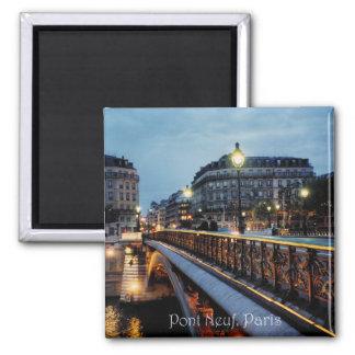 Seine Scene 2 Inch Square Magnet