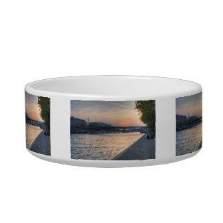 Seine sunset bowl