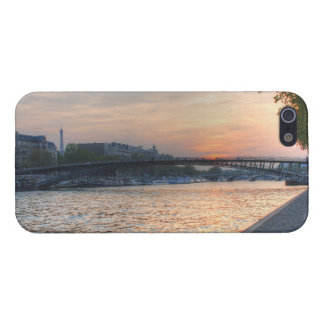Seine sunset iPhone SE/5/5s cover