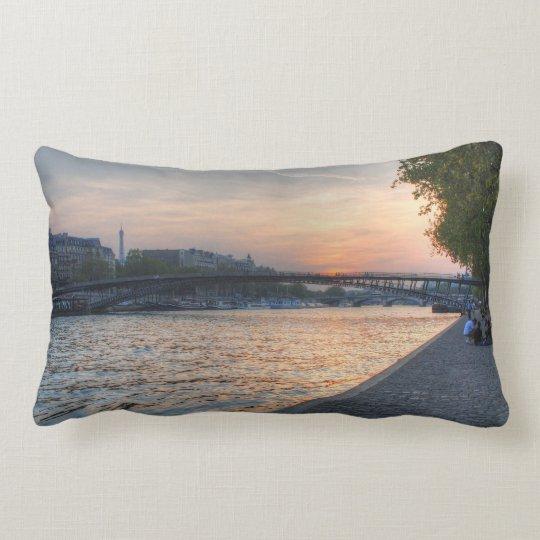 Seine sunset lumbar pillow