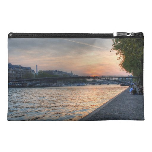 Seine sunset travel accessory bags