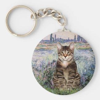 Seine - Tabby Tiger cat 30 Keychain