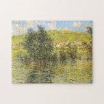 Seine Vétheuil Effect Sunshine after Rain Monet Puzzle