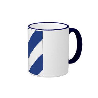 Seis 6 banderas de señal taza de café