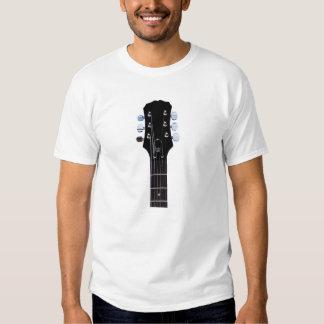 Seis camisetas del guitarrista de la secuencia polera