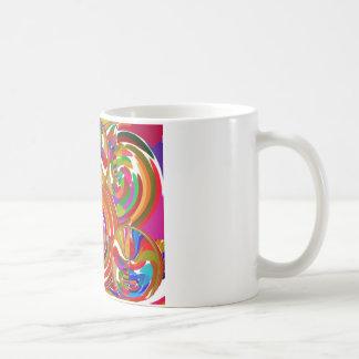 Seis círculos de la sigma - la terapia del color d taza