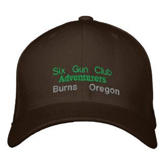 Seis clubs del arma gorras bordadas