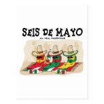 Seis De Mayo Post Cards