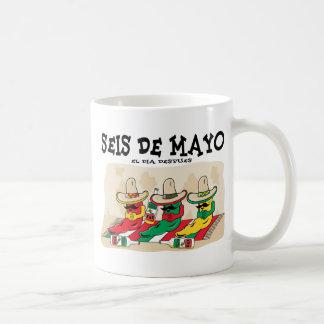 Seis De Mayo Taza De Café