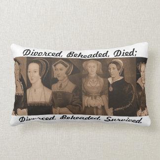 Seis esposas de almohada del Enrique VIII