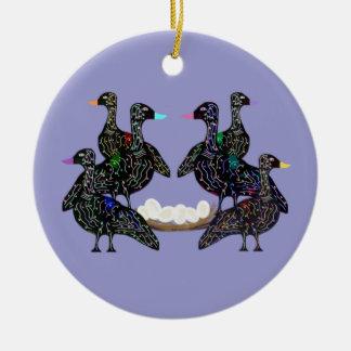 Seis gansos A que ponen el ornamento Ornamento De Reyes Magos