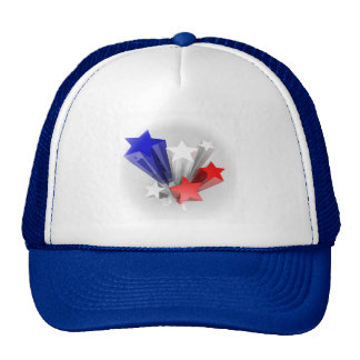 Seis gorras de las estrellas