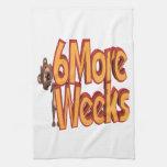 Seis más semanas toallas de mano