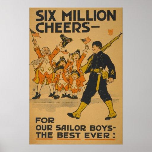 Seis millones de alegrías - para nuestros muchacho impresiones