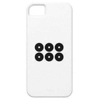 Seis monedas para la familia de Sanada iPhone 5 Funda
