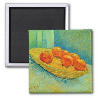 Seis naranjas de Vincent van Gogh Imán Para Frigorifico