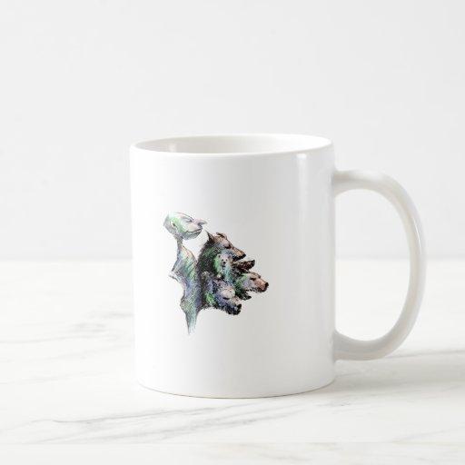 Seis paquetes melenudo taza de café