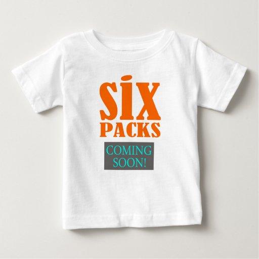"""Seis paquetes - viniendo pronto!"" Camiseta Playeras"