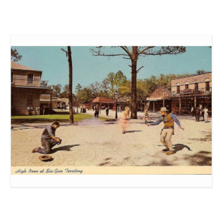 Seis parques temáticos del territorio del arma tarjetas postales