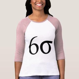 Seis sigmas (magro seis sigmas) camisetas