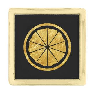 Seishinkai Karate Kamon in gold Gold Finish Lapel Pin
