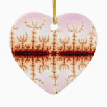 Seismic Measure - Fractal Art Ceramic Ornament