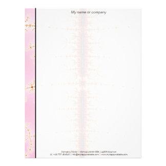 Seismic Measure - Fractal Art Letterhead