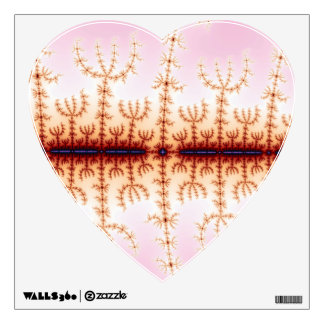 Seismic Measure - Fractal Art Wall Sticker