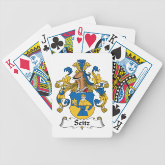 Seitz Family Crest Bicycle Playing Cards
