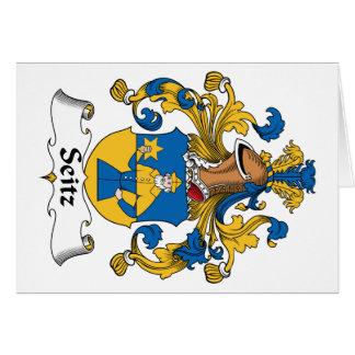 Seitz Family Crest Card