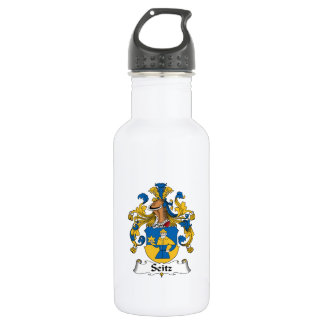 Seitz Family Crest Stainless Steel Water Bottle