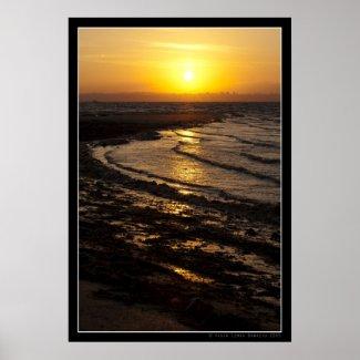 Seixalinho Sunset 001 Poster