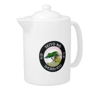 Seiyo-No Shorin Ryu Teapot