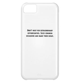 Seize Common Occassions Cover For iPhone 5C