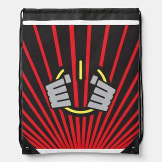 Seize Power Symbol Drawstring Bag