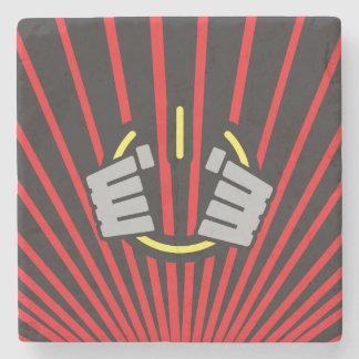 Seize Power Symbol Stone Coaster