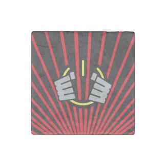 Seize Power Symbol Stone Magnet