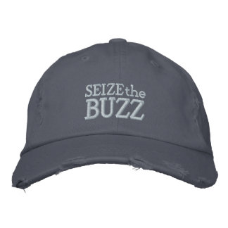 Seize the Buzz Embroidered Baseball Hat