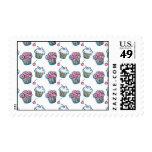 Seize The Cupcake Postage Stamps