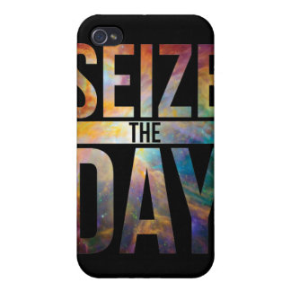 Seize the Day Black iPhone 4 Cover
