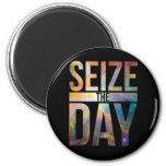 Seize the Day Black Magnet