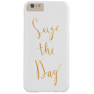 Seize the Day Gold Letters Phone Case