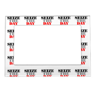 Seize the Day Magnetic Photo Frames