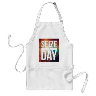 Seize the Day Nebula Adult Apron