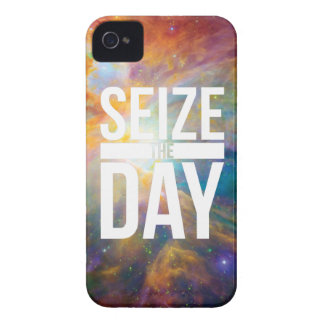 Seize the Day Nebula iPhone 4 Cover