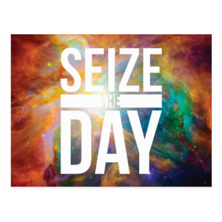 Seize the Day Nebula Postcard